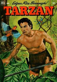 Cover Thumbnail for Edgar Rice Burroughs' Tarzan (Dell, 1948 series) #30