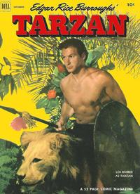 Cover Thumbnail for Edgar Rice Burroughs' Tarzan (Dell, 1948 series) #36