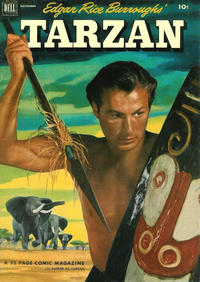 Cover Thumbnail for Edgar Rice Burroughs' Tarzan (Dell, 1948 series) #38