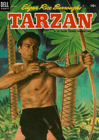 Cover Thumbnail for Edgar Rice Burroughs' Tarzan (Dell, 1948 series) #47