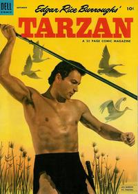 Cover Thumbnail for Edgar Rice Burroughs' Tarzan (Dell, 1948 series) #48