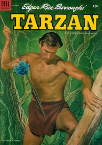 Cover Thumbnail for Edgar Rice Burroughs' Tarzan (Dell, 1948 series) #49