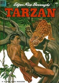 Cover Thumbnail for Edgar Rice Burroughs' Tarzan (Dell, 1948 series) #57