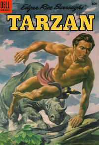 Cover Thumbnail for Edgar Rice Burroughs' Tarzan (Dell, 1948 series) #63