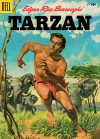 Cover Thumbnail for Edgar Rice Burroughs' Tarzan (Dell, 1948 series) #69