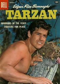 Cover Thumbnail for Edgar Rice Burroughs' Tarzan (Dell, 1948 series) #101