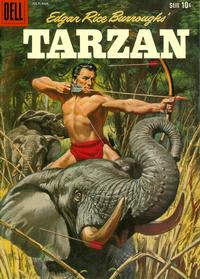 Cover Thumbnail for Edgar Rice Burroughs' Tarzan (Dell, 1948 series) #113