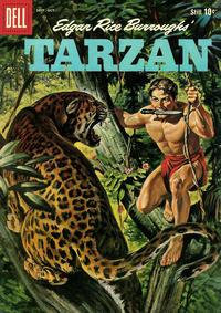 Cover for Edgar Rice Burroughs' Tarzan (Dell, 1948 series) #114