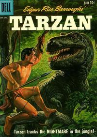 Cover Thumbnail for Edgar Rice Burroughs' Tarzan (Dell, 1948 series) #121