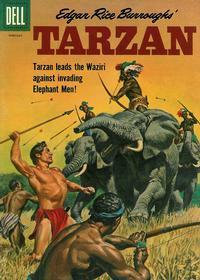 Cover Thumbnail for Edgar Rice Burroughs' Tarzan (Dell, 1948 series) #122