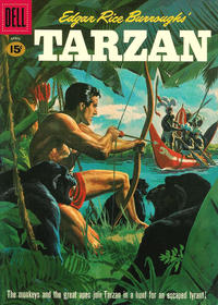 Cover Thumbnail for Edgar Rice Burroughs' Tarzan (Dell, 1948 series) #123