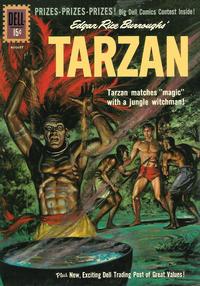 Cover Thumbnail for Edgar Rice Burroughs' Tarzan (Dell, 1948 series) #125