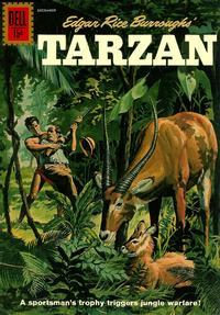 Cover Thumbnail for Edgar Rice Burroughs' Tarzan (Dell, 1948 series) #127
