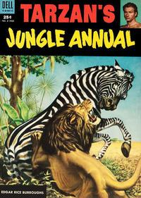 Cover Thumbnail for Edgar Rice Burroughs' Tarzan's Jungle Annual (Dell, 1952 series) #2
