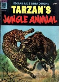 Cover Thumbnail for Edgar Rice Burroughs' Tarzan's Jungle Annual (Dell, 1952 series) #3 [30¢]