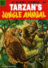 Cover Thumbnail for Edgar Rice Burroughs' Tarzan's Jungle Annual (Dell, 1952 series) #4