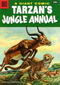 Cover Thumbnail for Edgar Rice Burroughs' Tarzan's Jungle Annual (Dell, 1952 series) #5