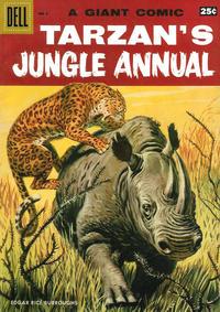 Cover Thumbnail for Edgar Rice Burroughs' Tarzan's Jungle Annual (Dell, 1952 series) #6