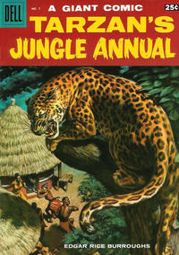 Cover Thumbnail for Edgar Rice Burroughs' Tarzan's Jungle Annual (Dell, 1952 series) #7
