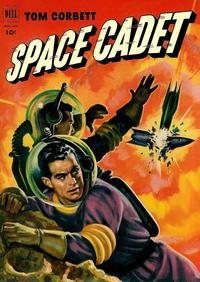 Cover Thumbnail for Tom Corbett, Space Cadet (Dell, 1953 series) #4