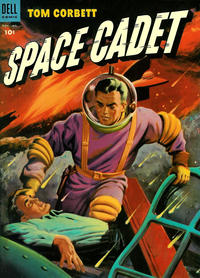 Cover Thumbnail for Tom Corbett, Space Cadet (Dell, 1953 series) #8