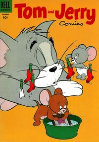Cover Thumbnail for Tom & Jerry Comics (Dell, 1949 series) #125