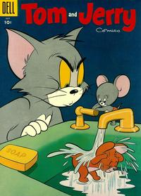 Cover Thumbnail for Tom & Jerry Comics (Dell, 1949 series) #132