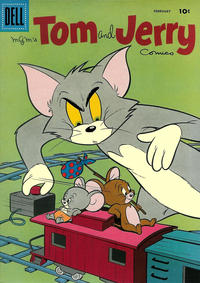 Cover Thumbnail for Tom & Jerry Comics (Dell, 1949 series) #163