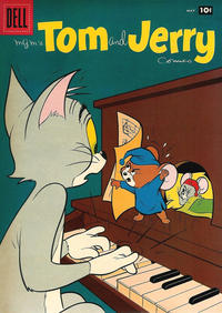 Cover Thumbnail for Tom & Jerry Comics (Dell, 1949 series) #166