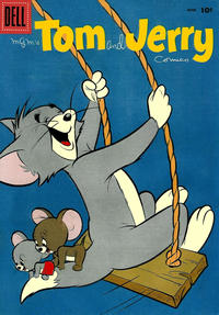 Cover Thumbnail for Tom & Jerry Comics (Dell, 1949 series) #167