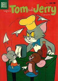 Cover Thumbnail for Tom & Jerry Comics (Dell, 1949 series) #180