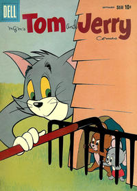 Cover Thumbnail for Tom & Jerry Comics (Dell, 1949 series) #182