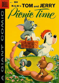 Cover Thumbnail for Tom & Jerry Picnic Time (Dell, 1958 series) #1