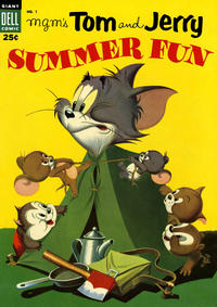 Cover Thumbnail for M-G-M's Tom & Jerry's Summer Fun (Dell, 1954 series) #1