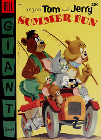 Cover Thumbnail for M-G-M's Tom & Jerry's Summer Fun (Dell, 1954 series) #2