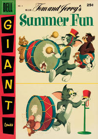 Cover Thumbnail for M-G-M's Tom & Jerry's Summer Fun (Dell, 1954 series) #4