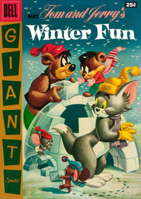 Cover Thumbnail for M.G.M.'s Tom & Jerry's Winter Fun (Dell, 1954 series) #5