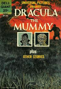 Cover Thumbnail for Universal Pictures Presents Dracula - the Mummy & Other Stories (Dell, 1963 series) #[nn]
