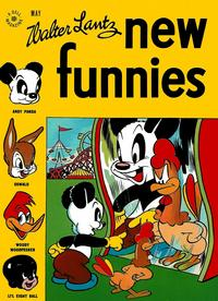 Cover Thumbnail for Walter Lantz New Funnies (Dell, 1946 series) #111