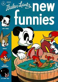 Cover Thumbnail for Walter Lantz New Funnies (Dell, 1946 series) #114