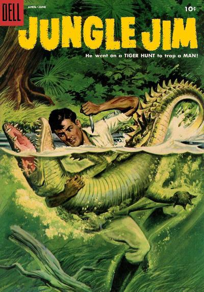 Cover for Jungle Jim (Dell, 1954 series) #5