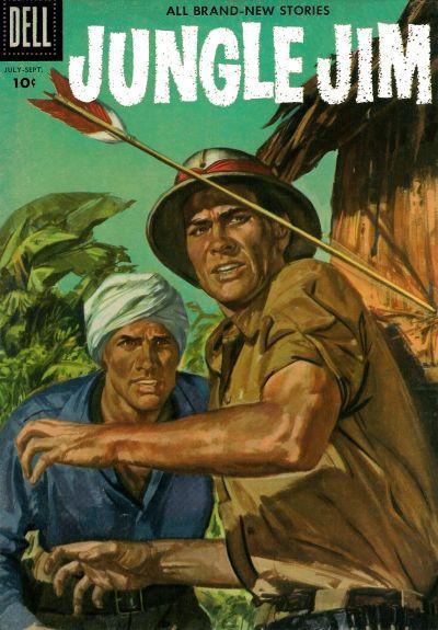 Cover for Jungle Jim (Dell, 1954 series) #9