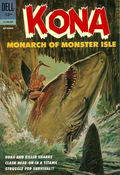 Cover for Kona (Dell, 1962 series) #3