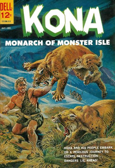 Cover for Kona (Dell, 1962 series) #4