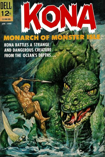 Cover for Kona (Dell, 1962 series) #6