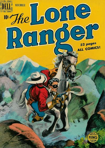 Cover for The Lone Ranger (Dell, 1948 series) #17