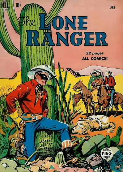 Cover for The Lone Ranger (Dell, 1948 series) #22