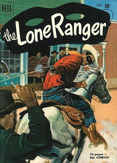 Cover for The Lone Ranger (Dell, 1948 series) #36