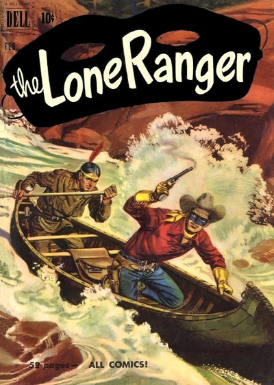 Cover for The Lone Ranger (Dell, 1948 series) #32