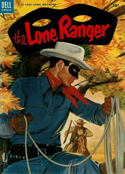 Cover for The Lone Ranger (Dell, 1948 series) #74